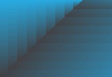Abstrait dégradé noir et bleu diagonale couches de belle et élégante. Banque d'images - 83431710