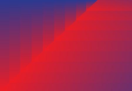 Couches diagonales rouges et bleues dégradé abstrait de beau et élégant. Banque d'images - 83431750