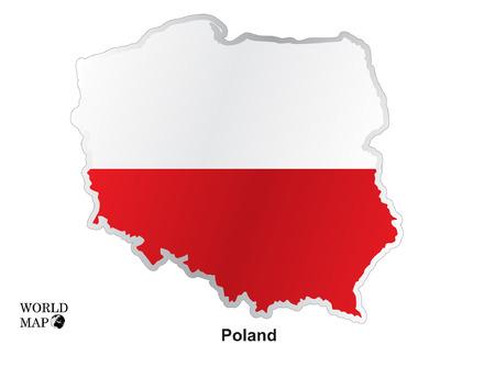 poland: Map Poland.