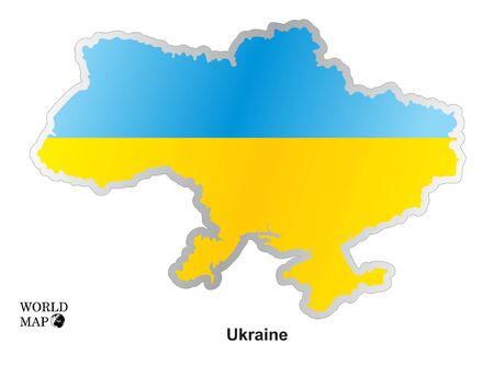 ukraine: Map Ukraine.