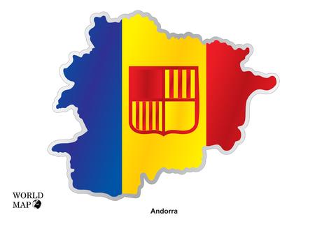 andorra: Map Andorra.