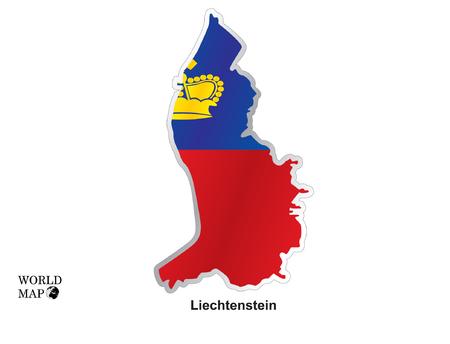 liechtenstein: Map Liechtenstein.