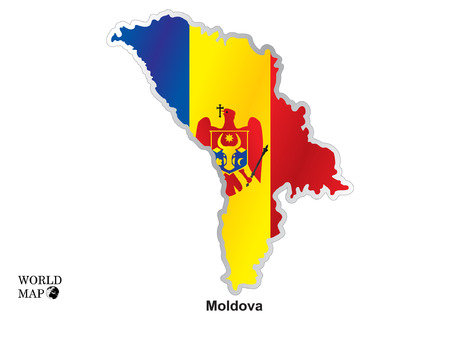 montenegro: Map Montenegro.