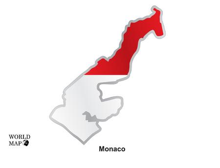 monaco: Map Monaco.