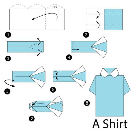 Instrucciones Paso A Paso Cómo Hacer Origami Un Nabo Ilustraciones