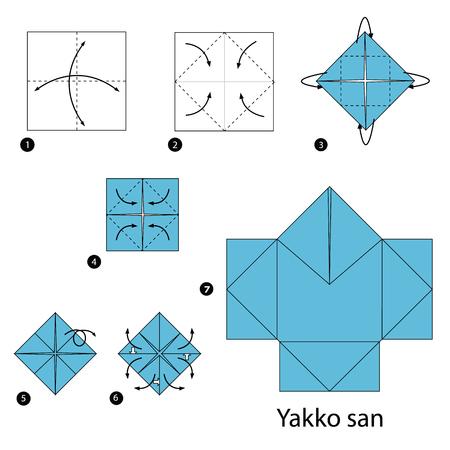 instrucciones: Instrucciones paso a paso c�mo hacer origami mafia Jap�n.