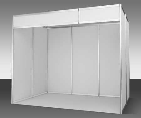 exhibitor: Template for easy presentation of a standard stand