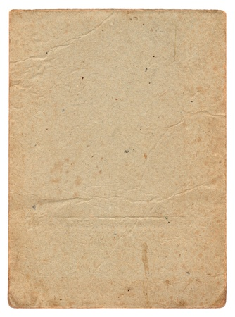 Vintage old cardboard background Stock Photo - 9333299