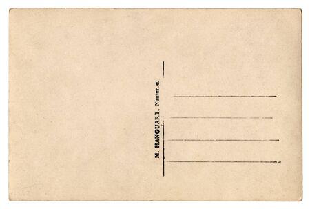 VIntage backdrop of old postcard