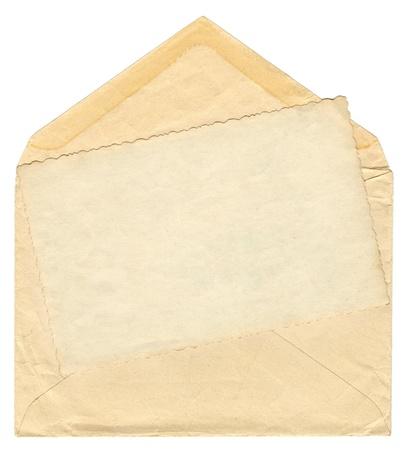 Vintage envelope Stock Photo - 9362710