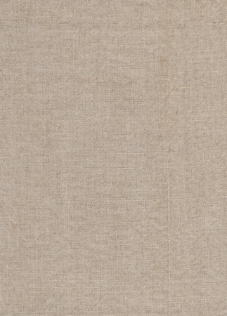 Natural linen fabric textured background  Stock Photo