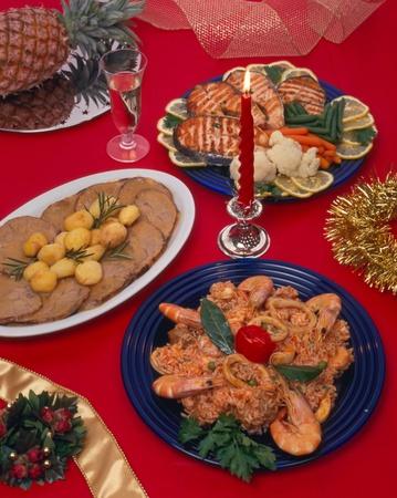 Christmas food photo