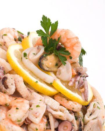 Shrimp and fish Stock Photo - 8270157