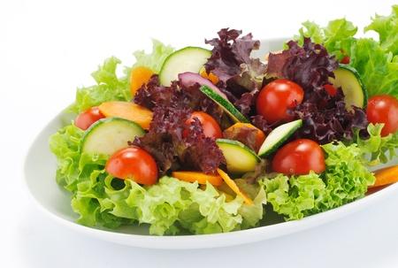 salad: mixed salad