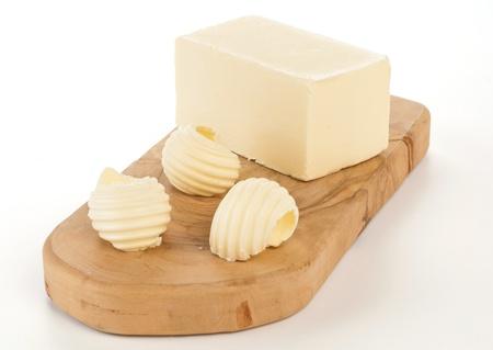 mantequilla: rizos de mantequilla Foto de archivo