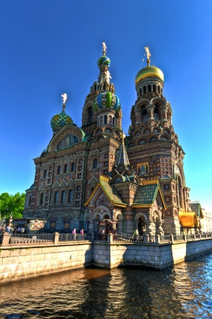 st petersburg: Church of the Savior on Spilled Blood, St  Petersburg, Russia