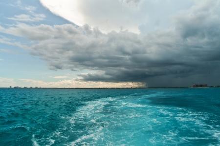 Mar Caribe, México Foto de archivo