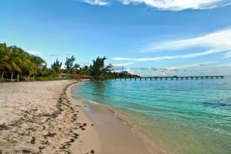 caribe: Playa Lancheros, Isla Mujeres, Mexico