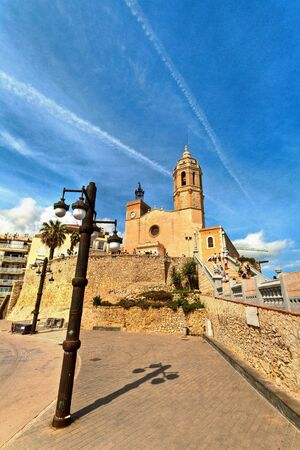 Church at Sitges, Spain