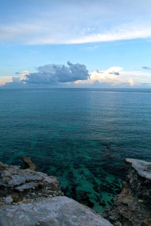 mujeres: View from the southern spot you can visit in Isla Mujeres, Mexico