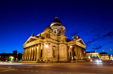 isaac s: St  Isaac s Cathedral in Russia Stock Photo