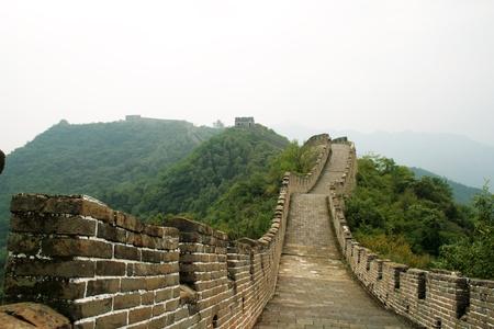 icono: Chinese great wall in Mutianyu, China
