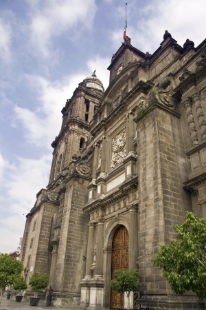 mexico city: Metropolitan cathedral of Mexico City Stock Photo