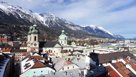 viewpoints: Viewpoints old town city in Innsbruck