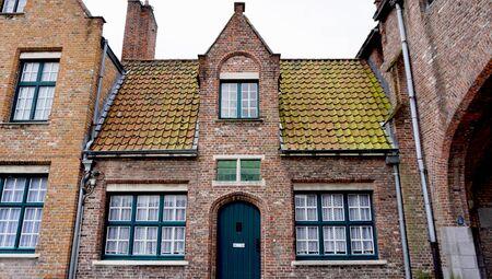 historical architecture: Historical architecture in Brugge Belgium Stock Photo