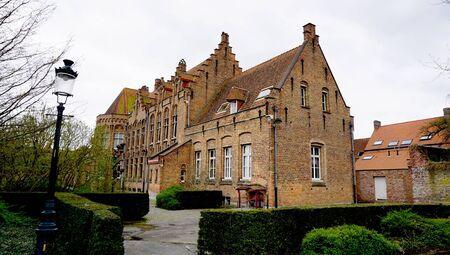 historical building: Historical building in Brugge Belgium