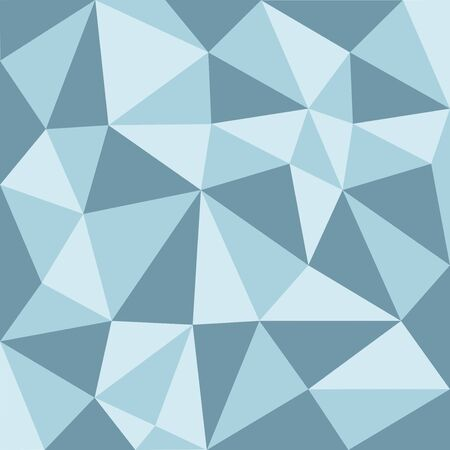 blue tone: Blue tone low polygon pattern Background, illustration