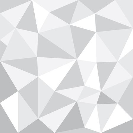 greyscale: greyscale tone low polygon pattern Background, illustration