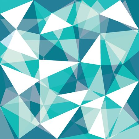 green tone: green tone low polygon overlay Background, illustration