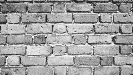 grey scale: Grey scale  Brick wall background horizontal
