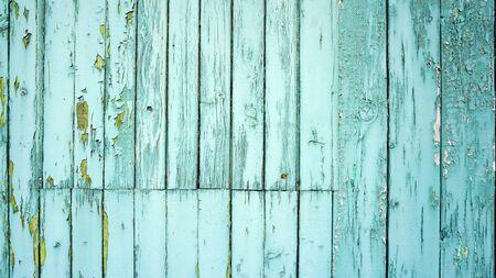 color: Vintage green wood background horizontal