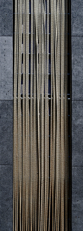 wood and rope material with textured vertical