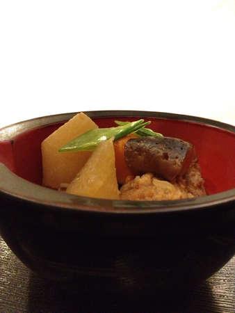 Vegetable and pork balls soup Stock Photo - 21190779