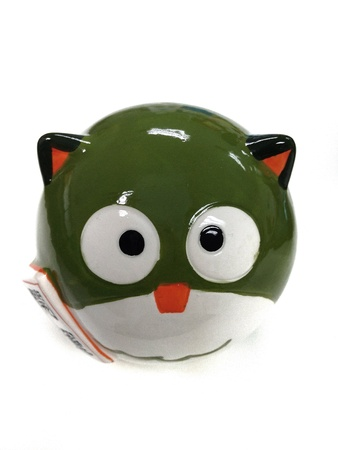 Green owl that lucky charm for education