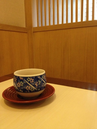 Japanese tea in japanese styles room