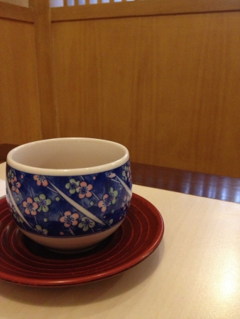 Japanese tea put in japanese styles room