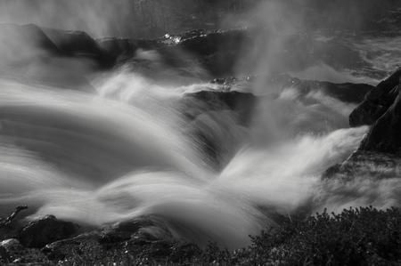 foaming: River stream power