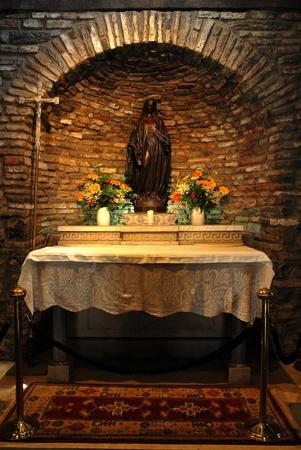 Virgin Mary house photo