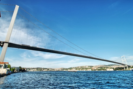 bosporus: Bosphorus bridge  Stock Photo