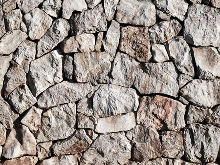 The wall built from the stone background