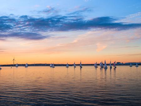Sailboat competition in Gotenburg, Sweden