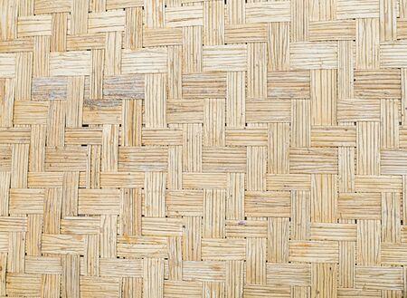 Bamboo mat texture floor