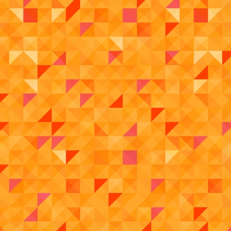 tessellated: The illustration of Colorful gold abstract pattern  Vector image