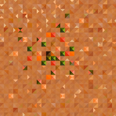 brawn: The illustration of Colorful square abstract pattern  Vector image