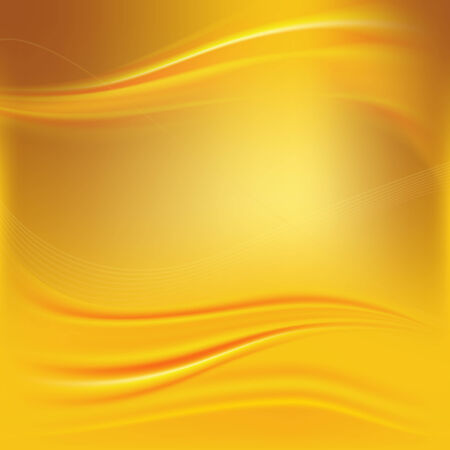 The illustration of beautiful golden background  Vector  Vector