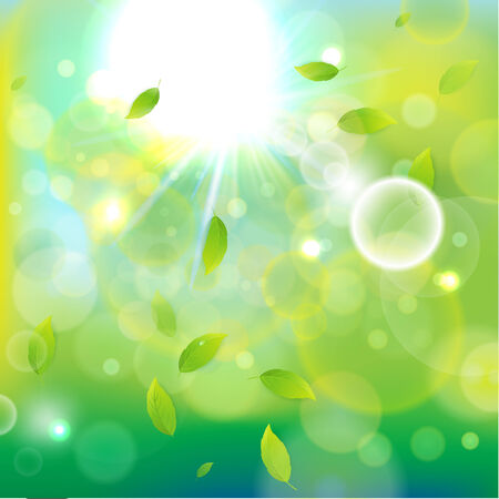 illustration for advertising: Shiny bright light background  Vector illustration for advertising and different purposes